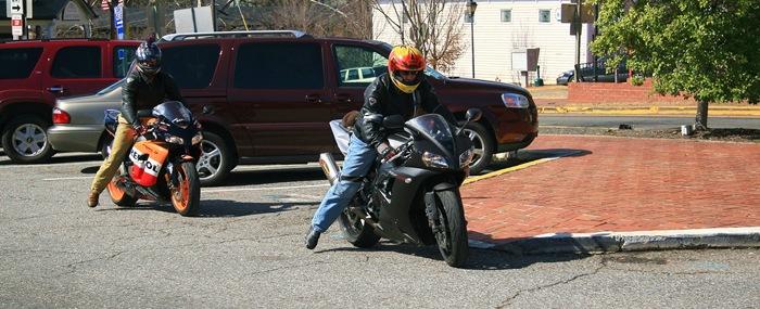 2 riders 1