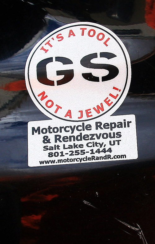GS sticker