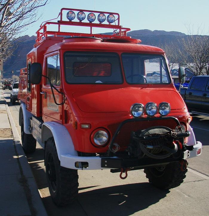 red Unimog 1