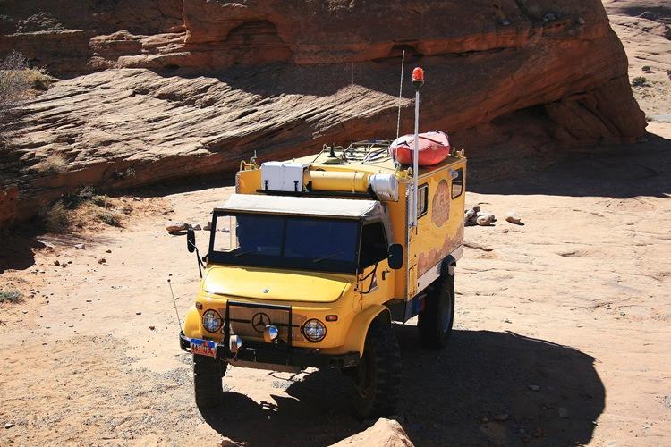 Yellow Unimog 2