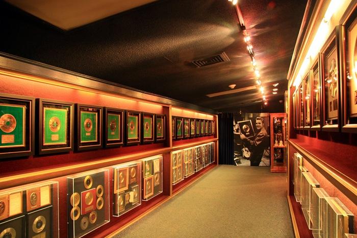 gold record hallway 1