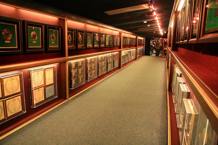 gold record hallway 2