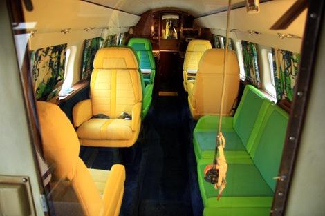 inside smaller plane