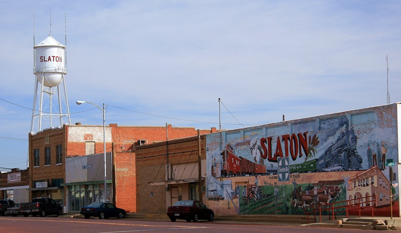 slaton downtown