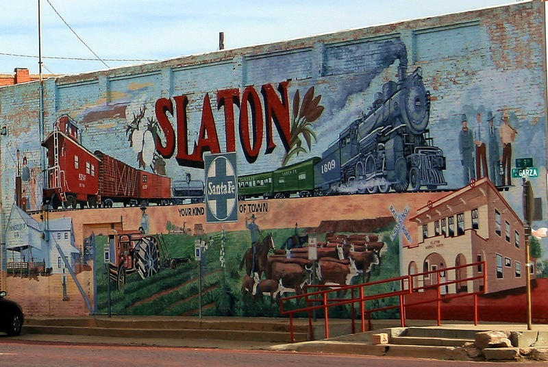 slaton mural