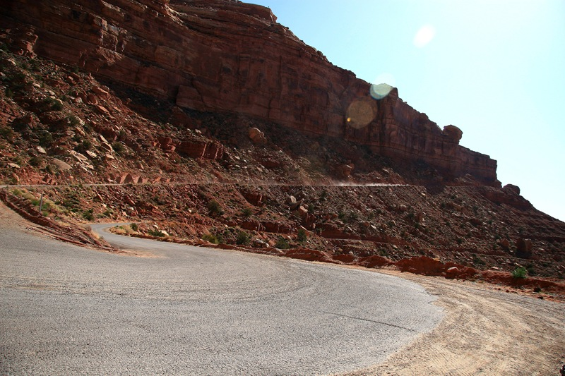start of Moki Dugway 2