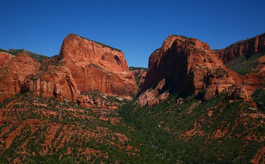 Kolob Canyon h