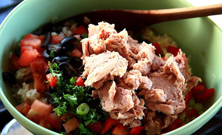 rice salad d