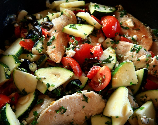 chicken feta d