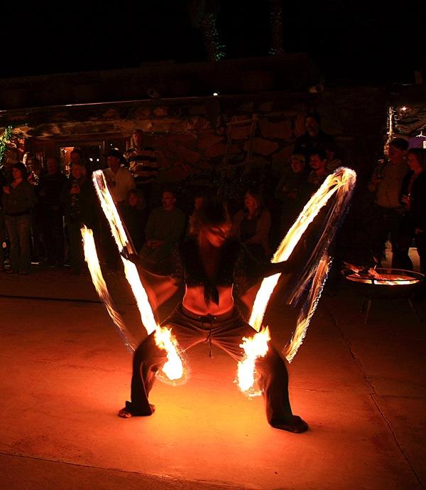 fire dancers g