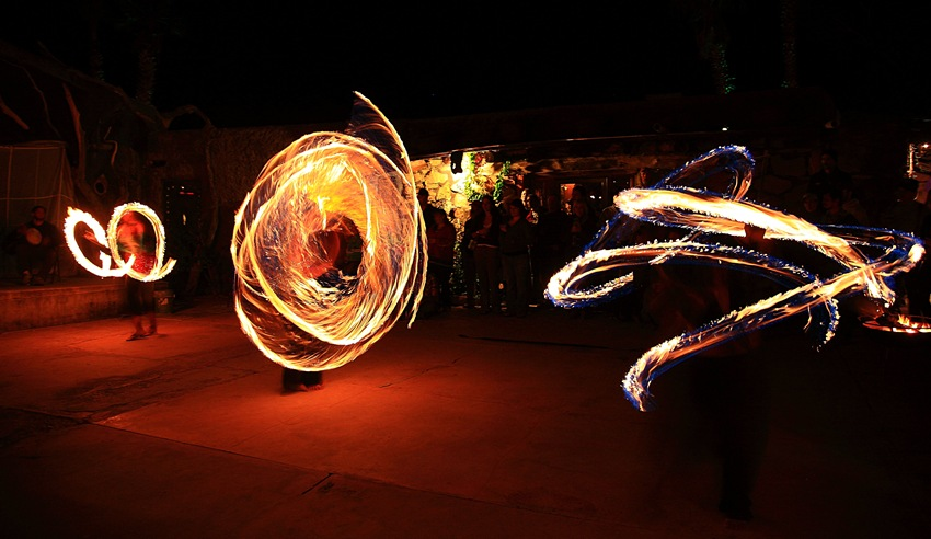 fire dancers h