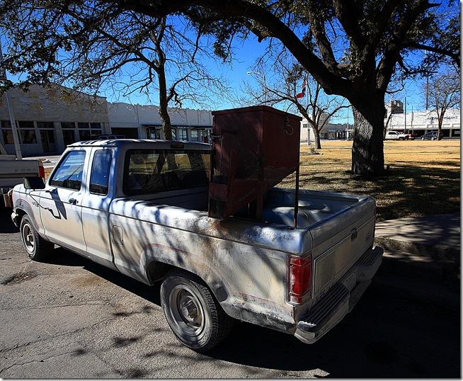 deer feed truck