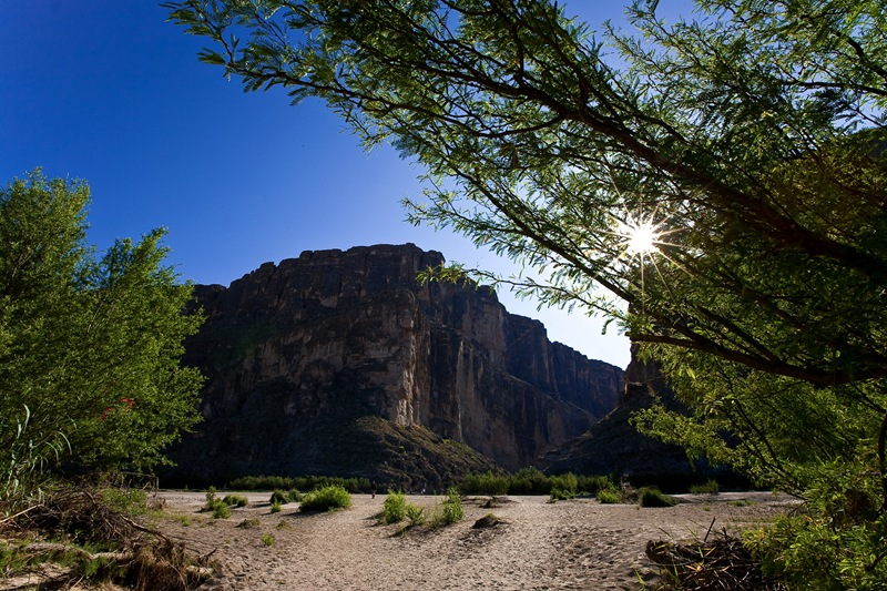 santa helena canyon a
