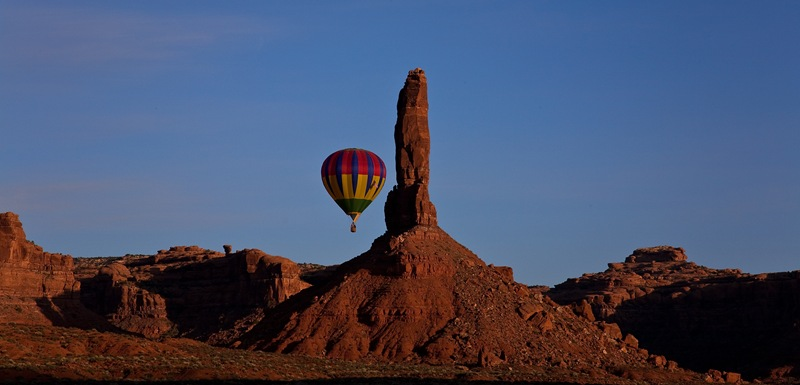 balloon and the needle