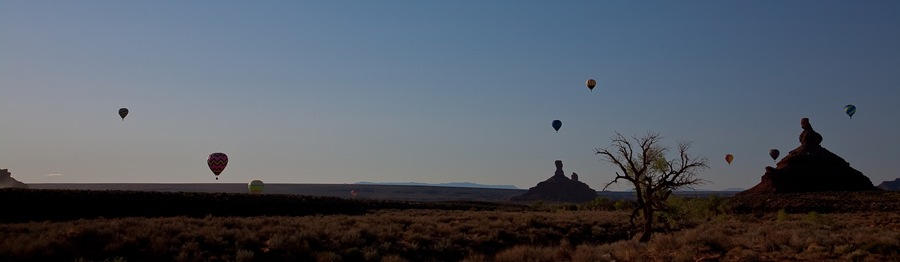 nine balloons