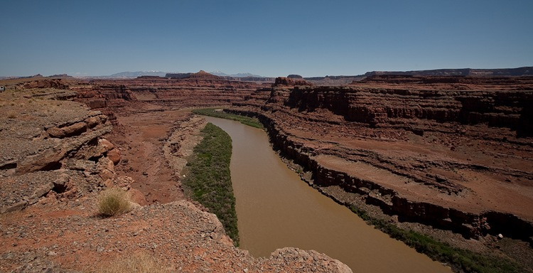 colorado river bank a