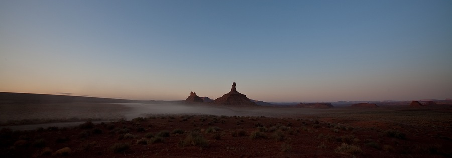 another morning fog, Valley of the Gods