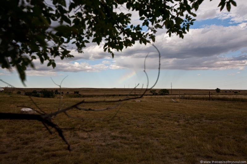 A faint Rainbow