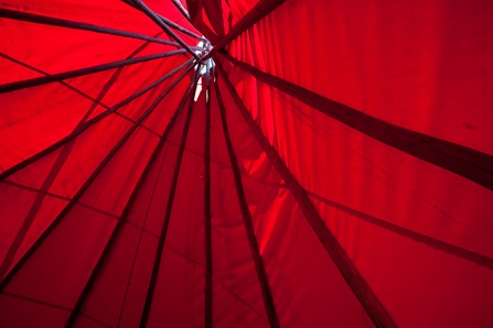 red tepee