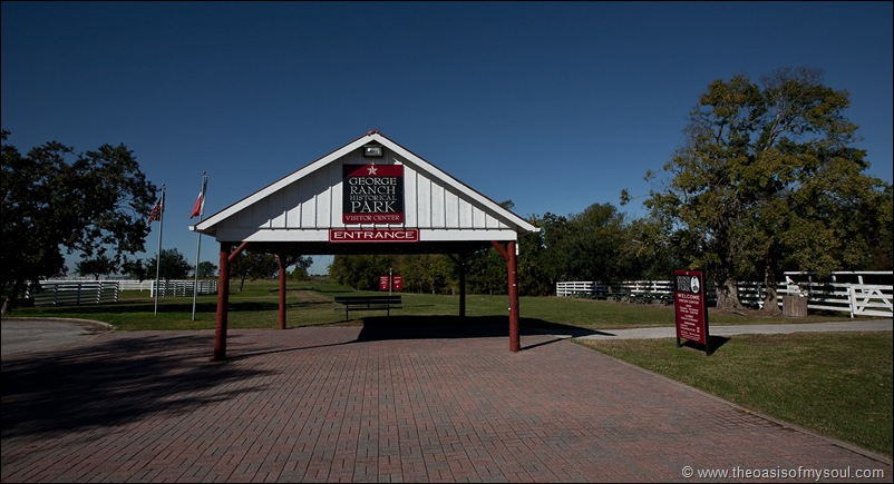 George Ranch entrance