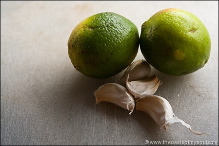 Lime Garlic
