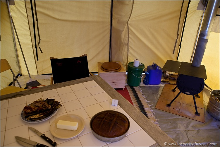 Tent dining