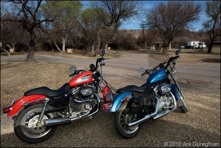 George and Deb's Harleys