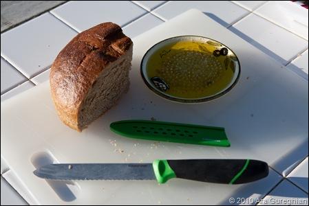 Bread and Garlic Oil
