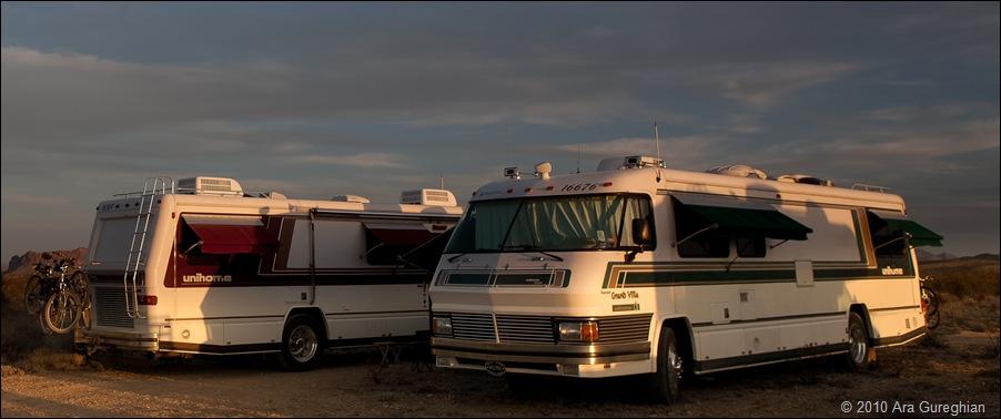 Twin RV's