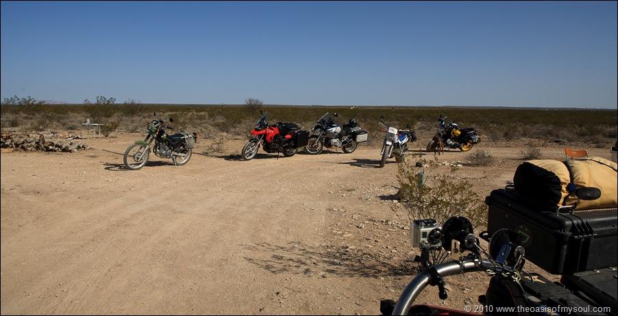 Visitors bikes