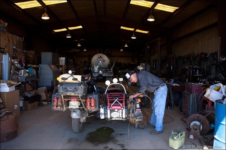 Jack welding