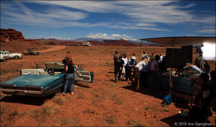 Thelma and Louise Movie set