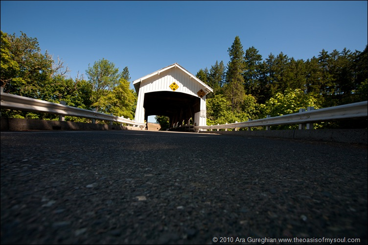Covered Bridge on 138