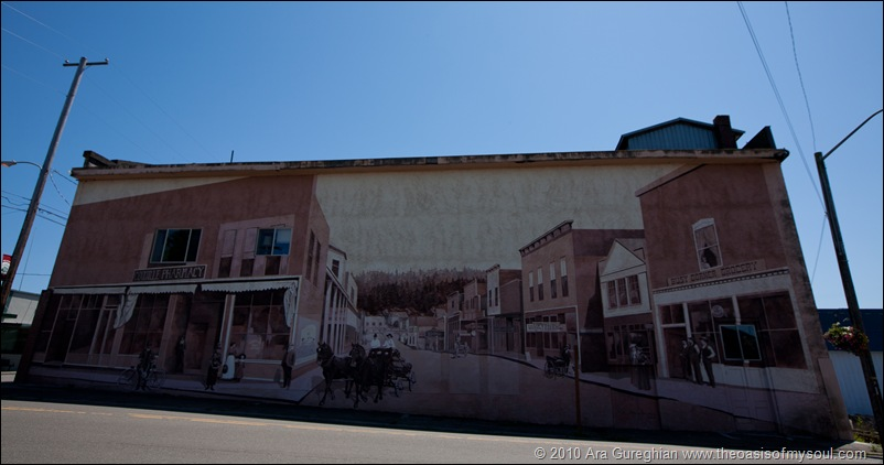 Mural in Coquille