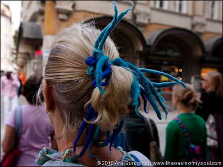 Hairdo in Munich