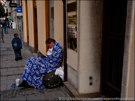 Homeless in Munich