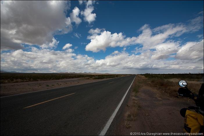 Toward Bisbee Hwy #9