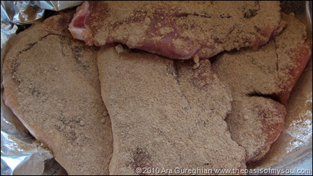mesquite pork chops