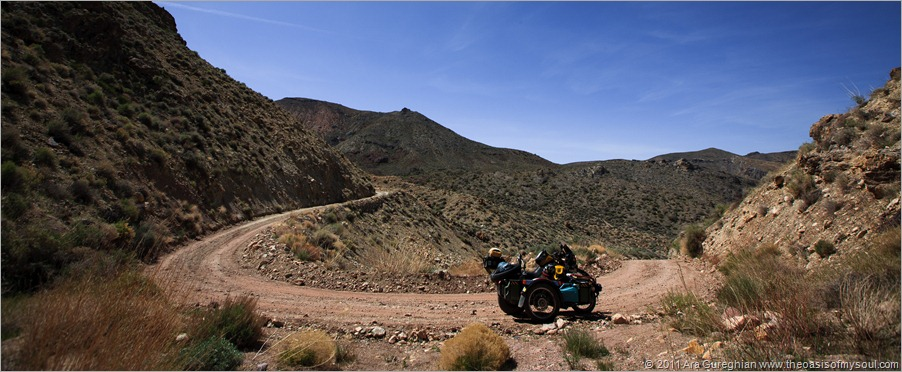 The road to Titus Canyon-16