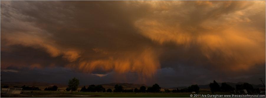 A rain in Dillon