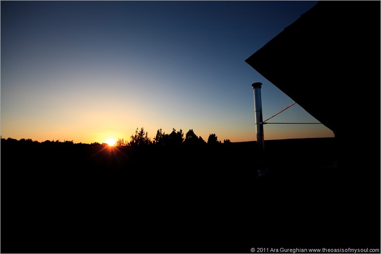 Sunset at -The Barn-