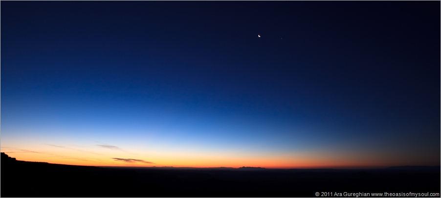Sunrise on Moley Point