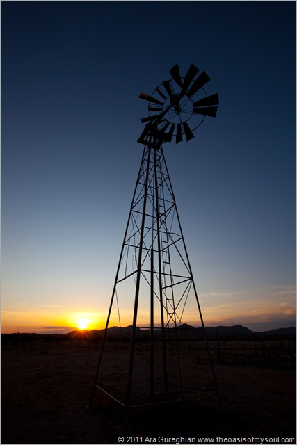 Windmill near Las Cruces-2