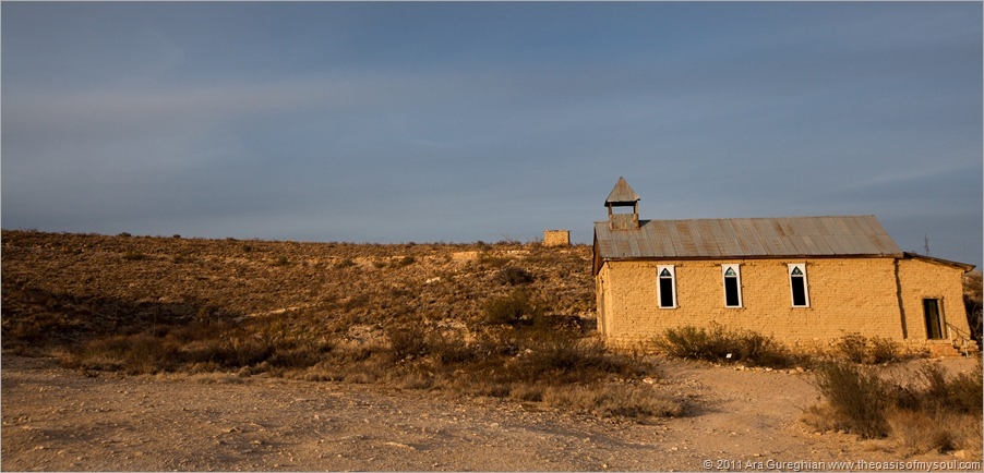 The Church in Ghost Town