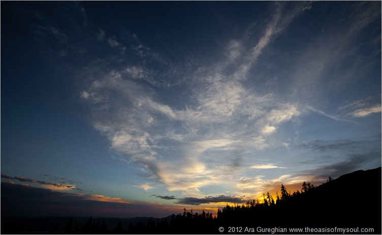 Sunset at Mt Shasta-3 xxx