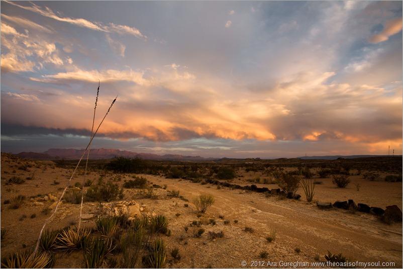 A Big Bend Flat Sunset-2