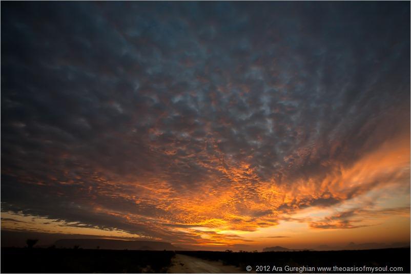 A Big Bend Flat Sunset-3