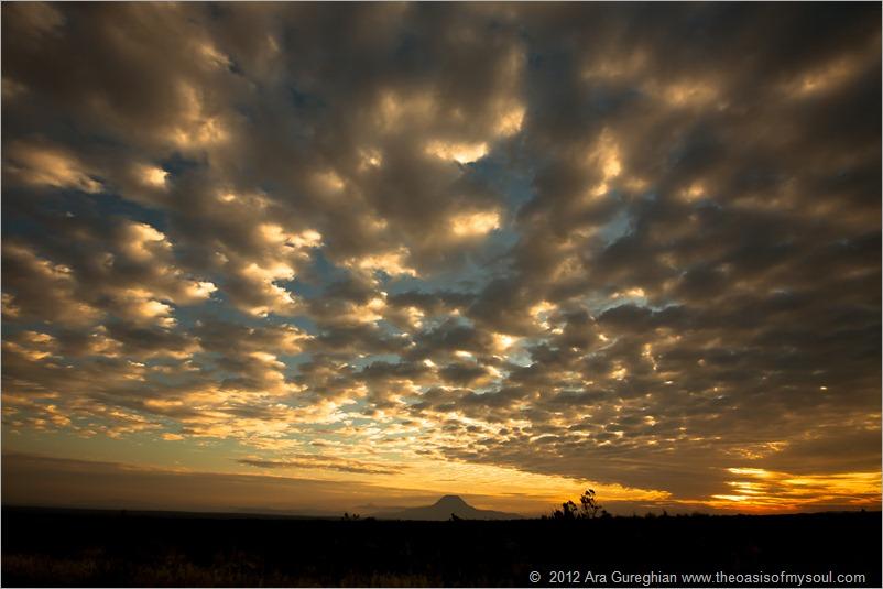 A Big Bend Flat Sunset