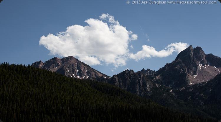 Sawtooth Mountains, Idaho. xxx