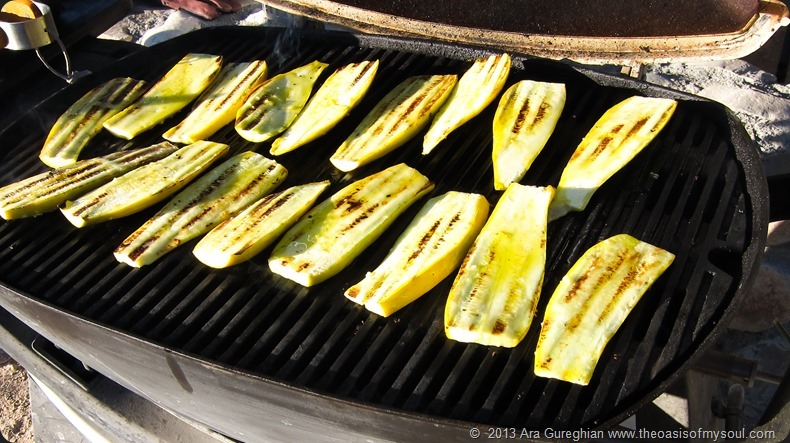 Grilled vegetables xxx